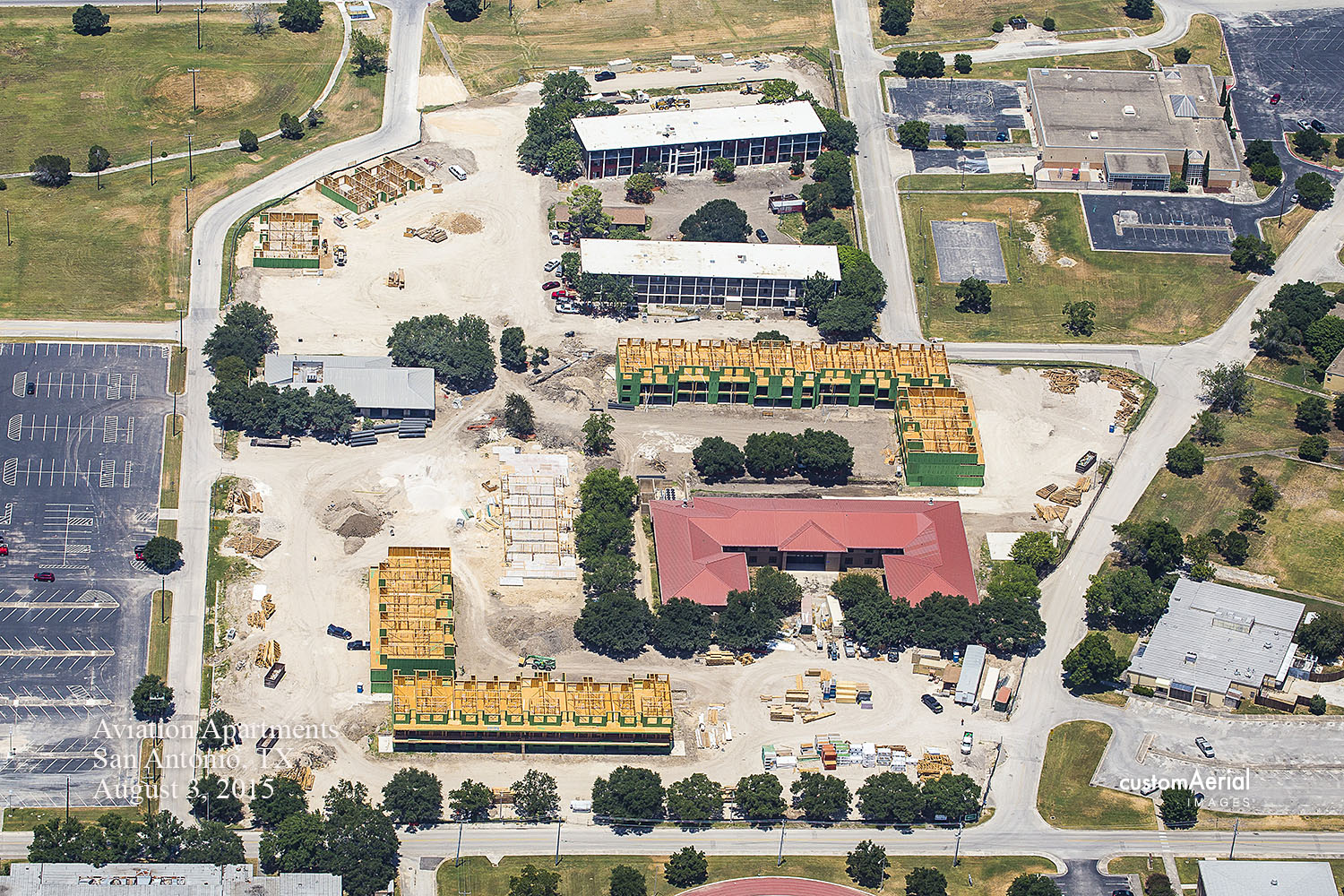 11. Construction Aerial 8-5-2015