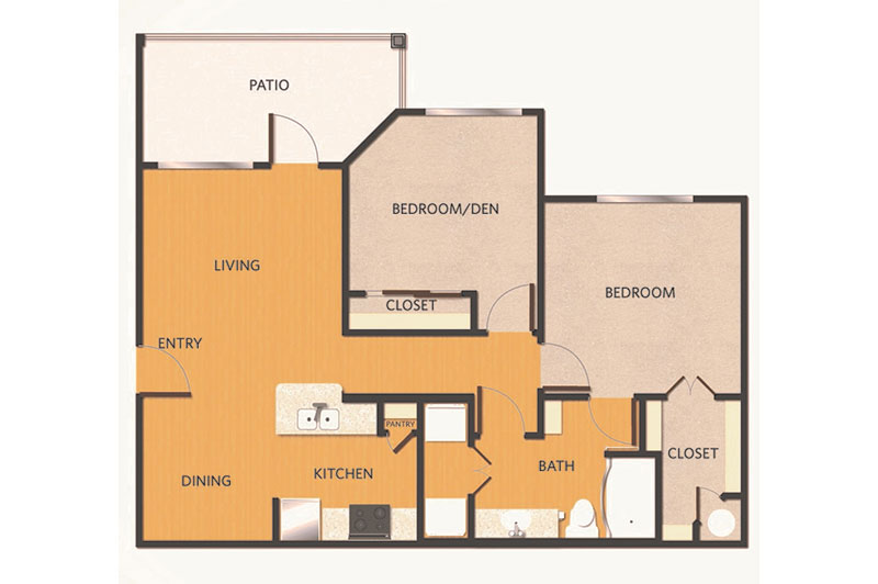 B1 Unit Floorplan