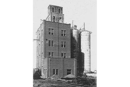 Historic Tower And Silos