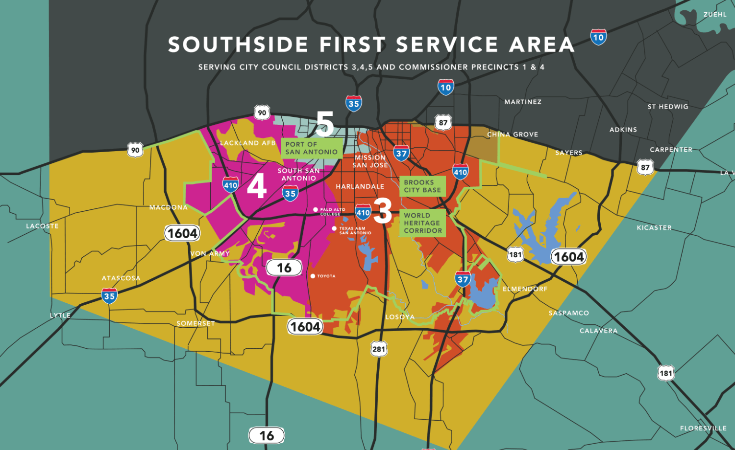 Mission DG Invests in the Southside