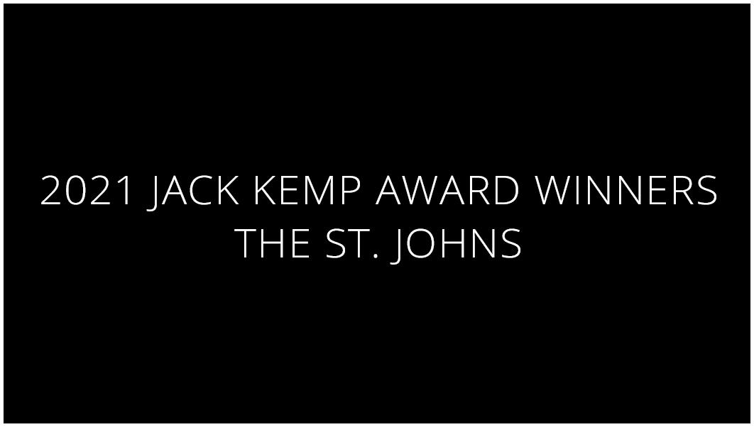 Jack Kemp <br> Award Winners